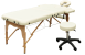 "Massagekomplettset Massageliege ""Standard one"" & Hocker"